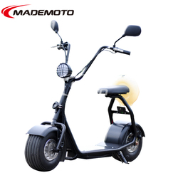 Citycoco electric scooter with 500W brushless bicycle electric motor