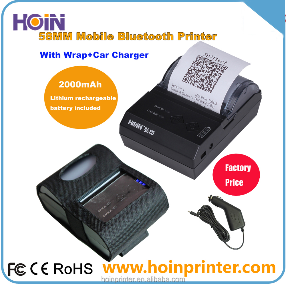 Mini Bluetooth Printer For Android 58mm No MOQ From Factory Mini Thermal Printer