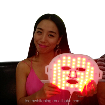 Home use LED facial mask phototherapy mask
