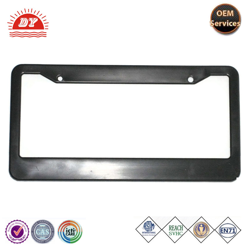 Custom Plastic Blank car License Plate Frames Wholesale