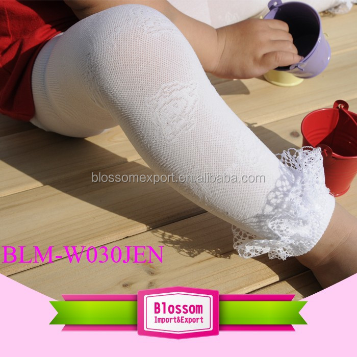 Fashion Cotton Kids Knit Over Knee Thigh Stockings High Socks PantyhoseTights Legging for Girls