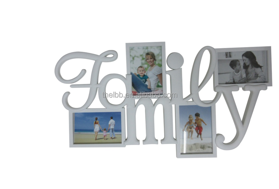 Contemporary Family Aperture Picture Frames For Wall