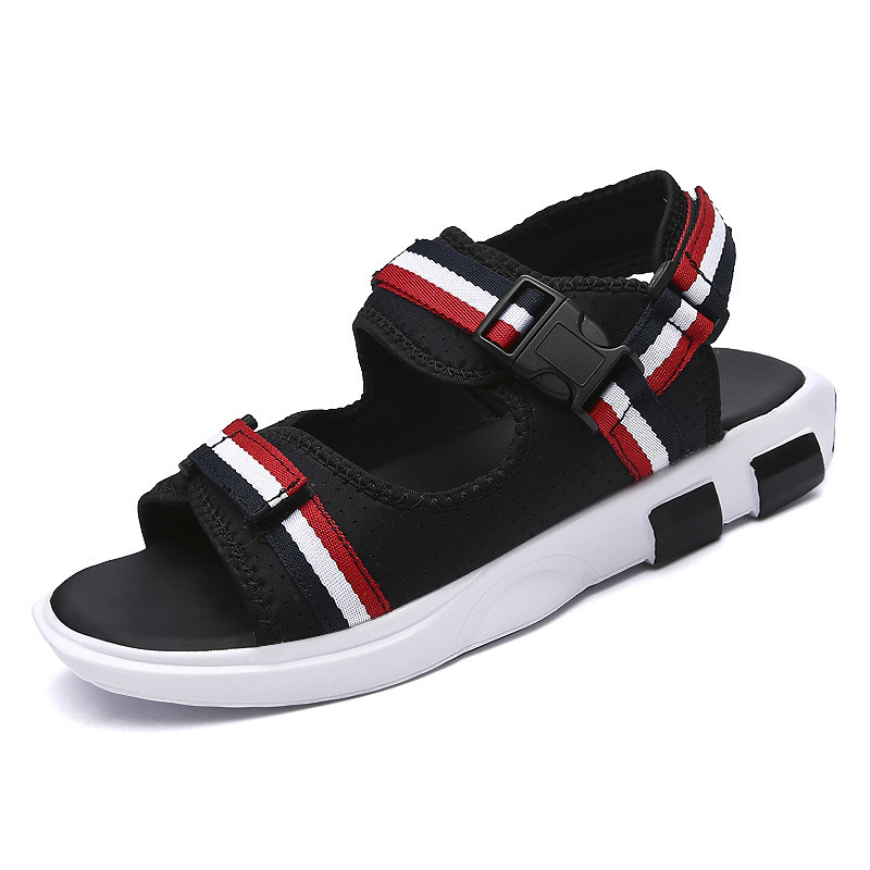 HFCS008 Wholesale custom new design ribbon sport kito men sandals