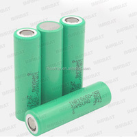 Authentic high drain 35A INR18650-25R 2500mAh 18650 battery (Green 25R) for samsung 25R