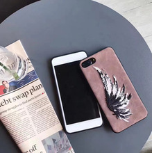High Quality Luxury Angel Wing Cool Painted Soft Phone Case For Iphone 6s Plus