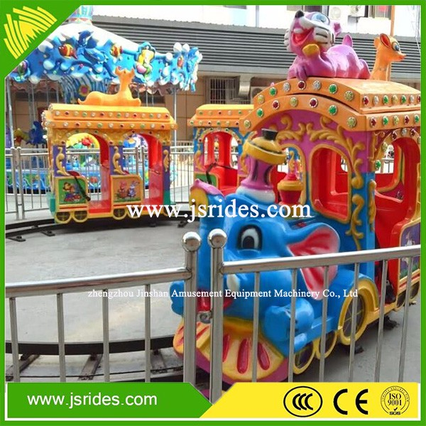 Happy park rides train ride kids amusement electric train rides