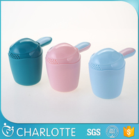 Top quality customized baby bathroom toys for shampoo rinse cup