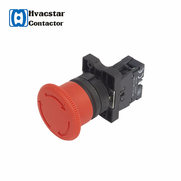 Emergency stop switch push button,mechanical push button switch