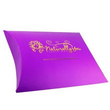 Customized Printing Wig Pillow Box Packaging for Hair Extension