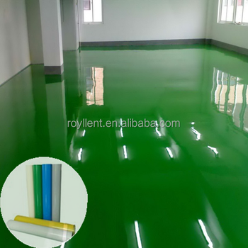 Wear-resisting epoxy flooring roll