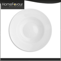 Trade Assurance SGS Compliance Homeware Plain White Porcelain Dinnerware