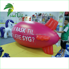 Hot Selling Fashion Custom Advertising Design 3m Helium Inflate Airship Blimp for Sale