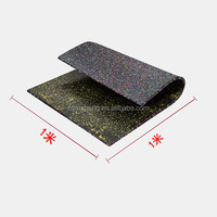 Crossfit Indoor Playground Rolled EPDM Rubber
