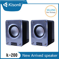 Portable Mini USB 2.0 Music Cube Woofer Speaker Box With 45'' Magnet Horn