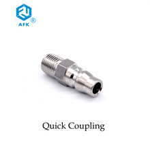 Stainless Steel Air Coupling Fitting/Quick Connect Pipe Fittings Quick Hose Coupler