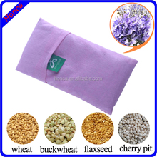 Wheat flex seeds buckwheat cherry stone filled lavender herbal eye pillow mask