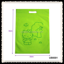 High Quality Colourful Nonwoven Die-cut Bag,Reusable Pouch Bag Die Cut Handle Bag For Shop