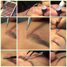 Own Brand/Custom Package/Private Label/OEM Eyebrow Extensions