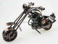 Mini Halley Motorcycle Model Metal Craft Gift