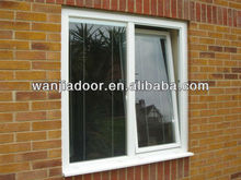 aluminium tilt and turn windows with blind inside/foshan wanjia brand