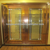 security luxurious gate stainless steel storm doors