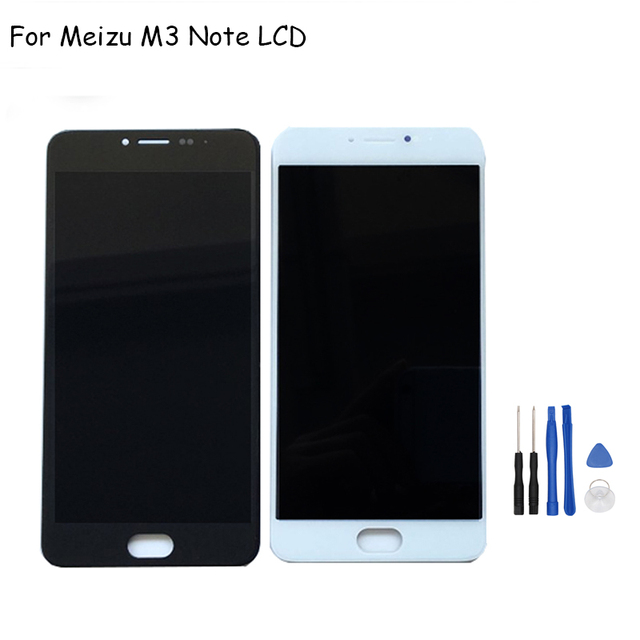 For Meizu M3 Note LCD Screen 5.5 inch 100% Original Replacement Accessories LCD Display+Touch Screen for Meizu M3 Note Free Ship