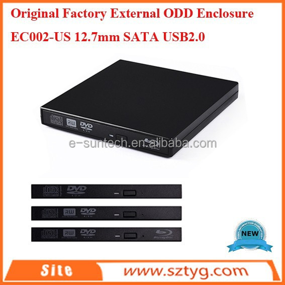 Promotion SATA Plastic Electronic Enclosures At Cheappest Price CE Pass USB2.0 External ODD Enclosure