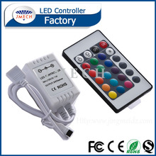 Programmable Led Controller Remote Ir 24 Keys Rgb Led Controller