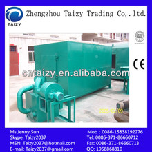 Air flow carbonization furnace for coal