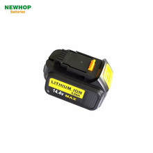 Top quality 14.4v 3to 5Ah power tool battery for 14.4v Dewalt battery