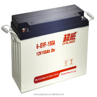Chilwee Brand Electric Vehicle Battery, 12V 150Ah