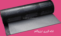 4mm aluminium foil waterproof bitumen membrane sheet for concrete roof