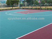 Yichen 2014 Hot Sale modular tile Basketball Flooring