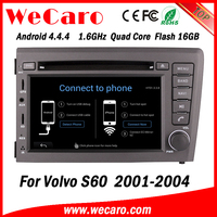 Wecaro WC-VL7060 Android 4.4.4 car dvd player quad core for volvo s60 dvd player radio gps 1080p 2001-2004