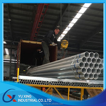 GREEN HOUSE HOT DIPPED GALVANIZED STEEL PIPE MADE IN CHINA