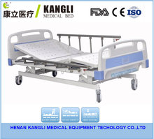 Cheap hospital furniture turn-over assisting three-function hospital adjustable bed prices