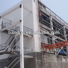ISO9001 Prefabricated structural steel building