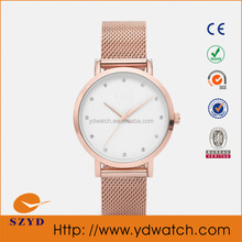 Stainless steel 5atm water resistant watch,Japan movt quartz watch stainless steel back