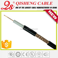 75 ohm low DB loss antenna cable RG6U RG59+2C cctv cable RG58 for japan av movie