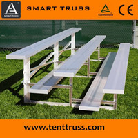 Wholesale Safety Lightweight Design Aluminum Bleachers