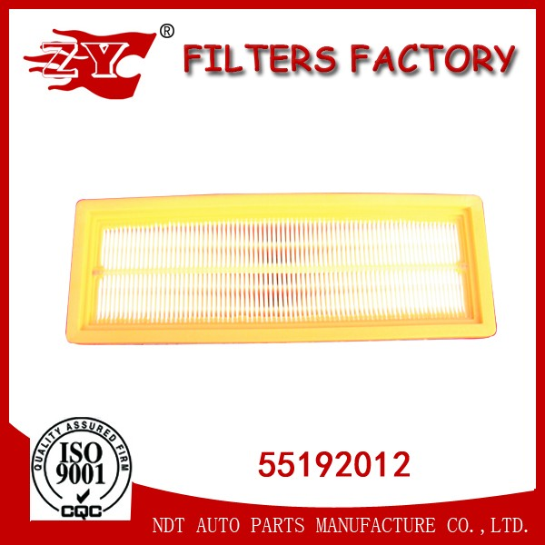 filter air 55192012 with competitive price used for FIAT