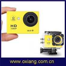 "WIFI Action Camera W9 wifi 12MP CMOS Full HD 1080P 30FPS 2.0""LCD Diving 30M Waterproof Sport DV CAM"