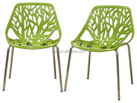 Birch Sapling Plastic Accent and Dining Chairs