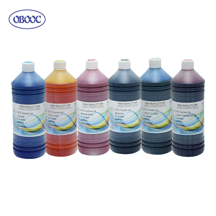White Textile Ink/DTG Pretreatment Liquid for Flatbed Printer Direct Digital Printing