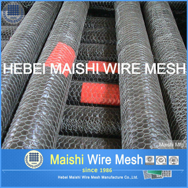 ultra fine double twisted hexagonal wire mesh for fencing