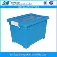 colorful plastic storage box with interlock lid clear plastic lockable storage box