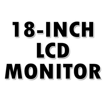 Various Brand 18-INCH Black/Silver/SilverBlack LCD MONITOR