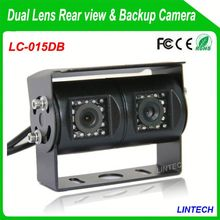 China supplier dual lens video mixer with monitor for trucks