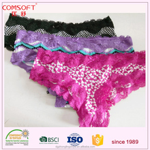 sexy fashion show bikini lingerie cotton lace panties boy shorts for women