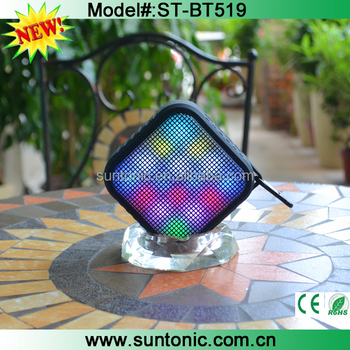 Portable mini Bluetooth Speaker with OEM logo and 1200mah big battery for outdoor use